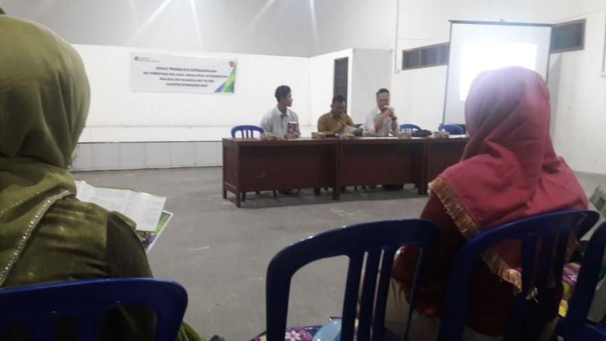 Edukasi Program BPJS Ketenagakerjaan dan Pembentukan Desa Sadar Jaminan Sosial Ketenagakerjaan